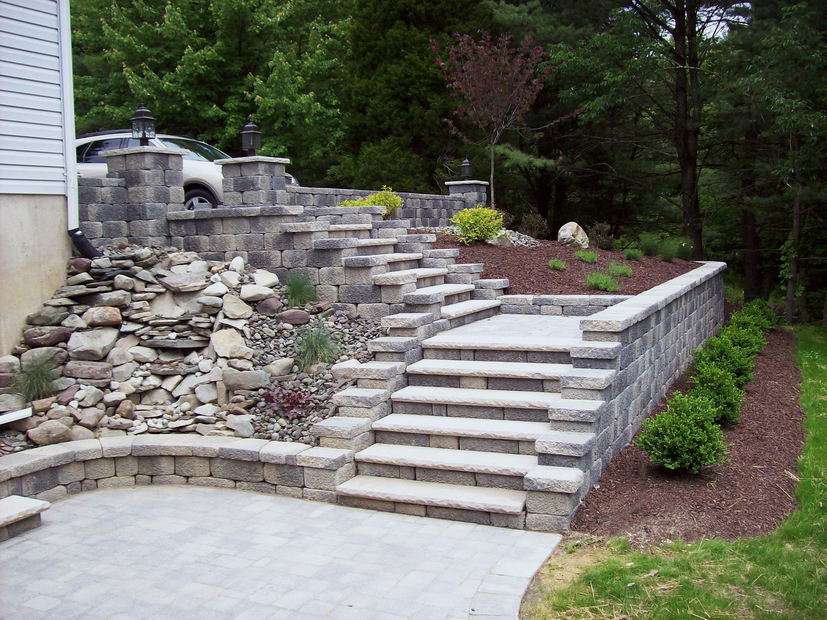 hardscape specialist specializing in design installation of brick